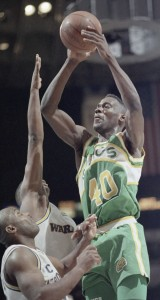 NBA  Playoffs                  Sonics     Warriors    '92