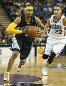 Grizzlies Kings Basketball