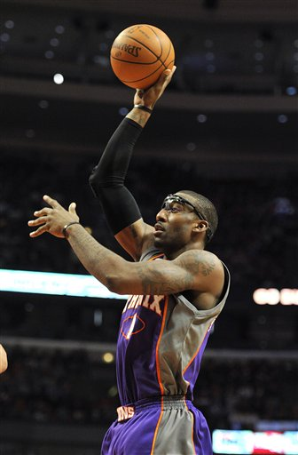 Suns power forward Amare Stoudemire is averaging 22.8 points and 8.9 rebounds this season.